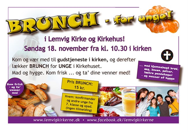 BRUNCH For Unge November 2018